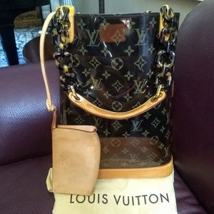 LOUIS VUITTON Monogram Cabas Ambre MM Rare LTD ED